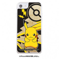 iPhone Cover Pikachu Glitter B