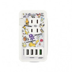 AC Socket with USB Port Mix