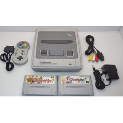 Nintendo Super Famicom A Grade - 4 Items set + Dragon Quest 5 and 6