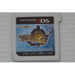 Monster Hunter 3G Tri 3DS