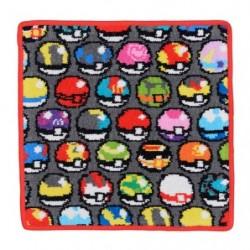 Mini Serviette Pokeball Game Dotto japan plush