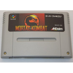 Mortal Kombat Super Famicom