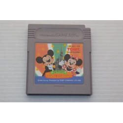 Tokyo Disneyland Mickey no Cinderella Shiro Mystery Tour Game Boy