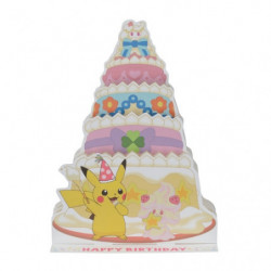 Birthday Card Alcremie Pikachu