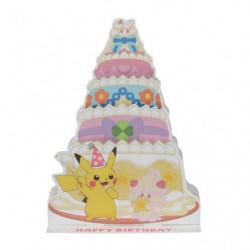 Carte Anniversaire Charmilly Pikachu
