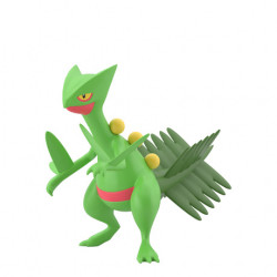 Figure Sceptile Scale World Hoenn