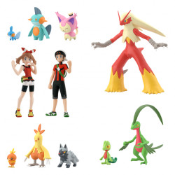 Figurine Pokémon Scale World Hoenn Set Régional