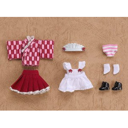 Nendoroid Doll Uniforme Maid Japonais Rouge