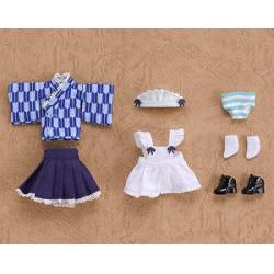 Nendoroid Doll Uniforme Maid Japonais Bleu