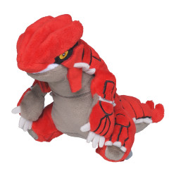 Plush Pokémon Fit Groudon
