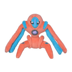 Plush Pokémon Fit Deoxys Defense Form