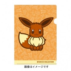 A4 Clear File Eevee japan plush