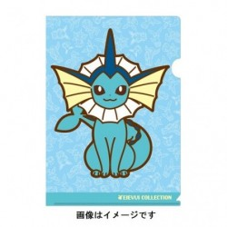 A4 Clear File Vaporeon japan plush