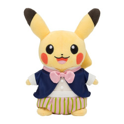 Plush Pikachu Mysterious Tea Party
