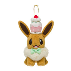 Plush keychain Eevee Mysterious Tea Party
