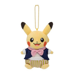 Plush keychain Pikachu Mysterious Tea Party