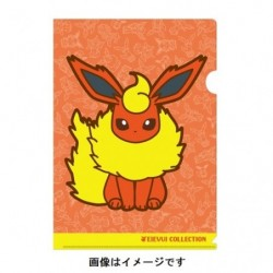 A4 Clear File Flareon japan plush