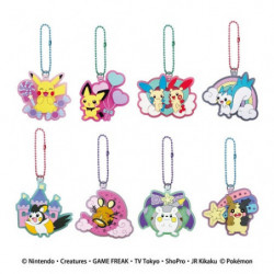 Keychain Lame Rubber Pokémon Collection 2