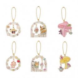 Keychain Acrylic Charm Collection Pokémon Mysterious Tea Party BOX