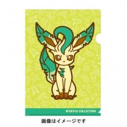 A4 Clear File Leafeon japan plush