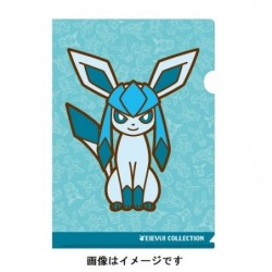 A4 Clear File Glaceon japan plush