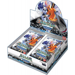 Display Battle of Omega Digimon Card BT-05
