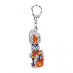 Acrylic keychain Cinderace