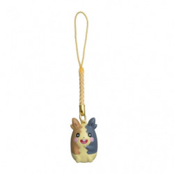 Netsuke keychain Morpeko full belly