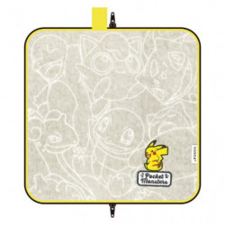 Dot Pouch Keep Pikachu Gray