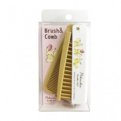 Brown Brush and Comb Pikachu Number 025