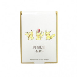 Pocket Mirror M Pikachu Number 025 Seiretsu