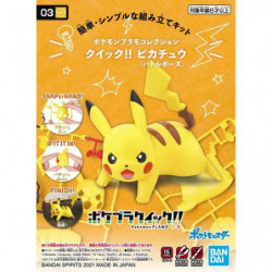 Figure Pikachu Battle Pose Ver. Plastic Model