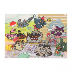 Clear file A4 Galarian Meowth Day