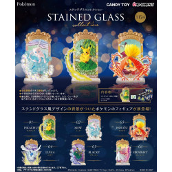 Stained Glass Collection Re-ment Pokemon BOX
