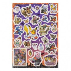 PET Sticker Pokemon Halloween Time japan plush