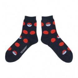 Middle Socks Monster Ball Red Dot