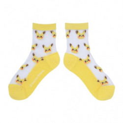 Middle Socks Pikachu See Through