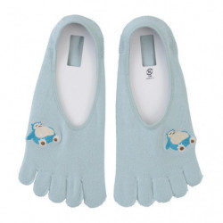 Cover Socks 5 Toes Snorlax One Point