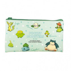 Trousse Plate Green Multi Pouch Colors