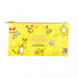 Trousse Plate Yellow Multi Pouch Colors
