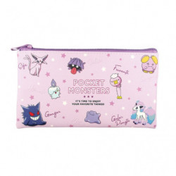 Flat Pouch Purple Multi Pouch Colors