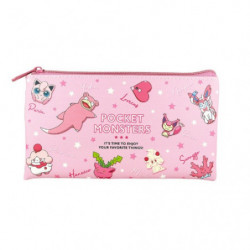 Trousse Plate Pink Multi Pouch Colors