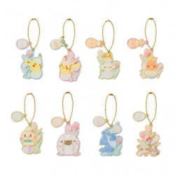 Egg Case Acrylic Charm Collection Happy Easter Basket