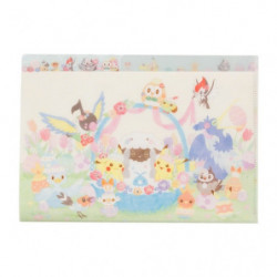 Clear File A4 5P Happy Easter Basket
