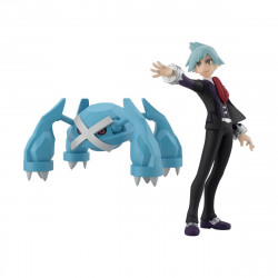Figure Pokémon Steven and Métagross Scale World Hoenn