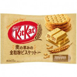 Kit Kat Mini Whole Wheat Biscuits