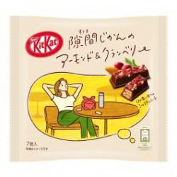Kit Kat Amande et Canneberge