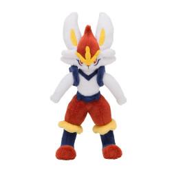 Plush Cinderace Pokémon Posing