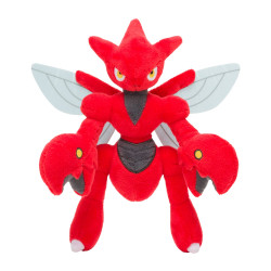 Peluche Cizayox Pokémon Posing
