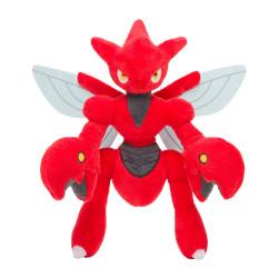 Plush Scizor Pokémon Posing